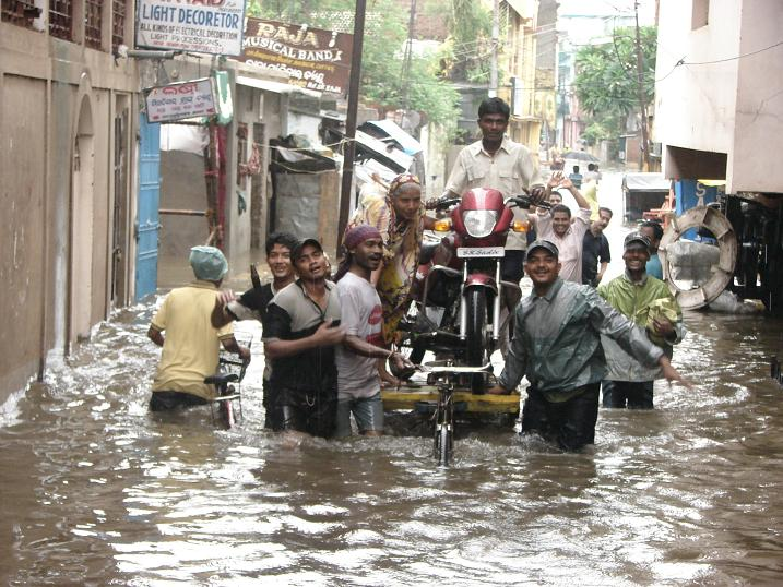 Heavy rains play havoc in Orissa cities