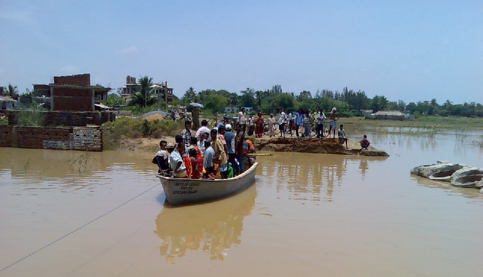Young woman drowns in swelling river