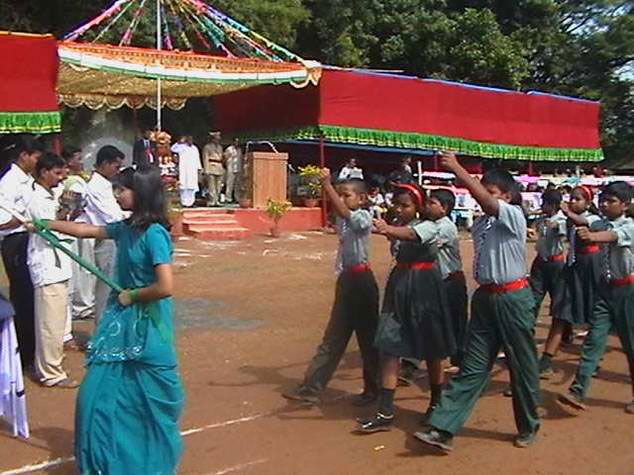 Independence day peaceful in maoists area