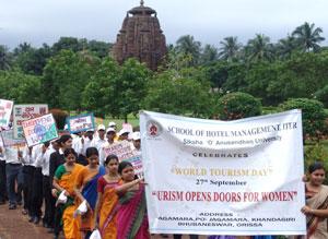 Bhubaneswar celebrates world tourism day