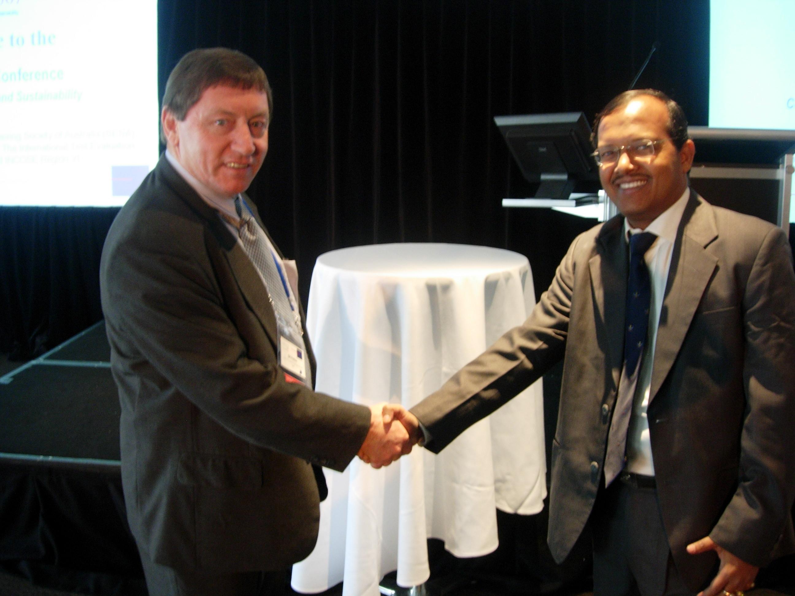ITR scientist appreciated in Australia for research