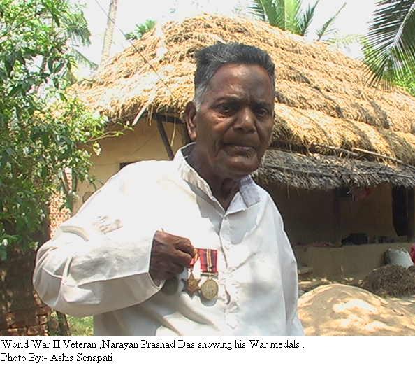 World war veteran Narayan Prasad Das  dies