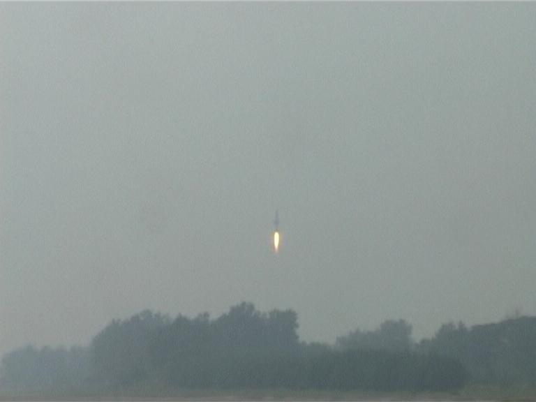 Interceptor Missile tested sucessfully from Orissa