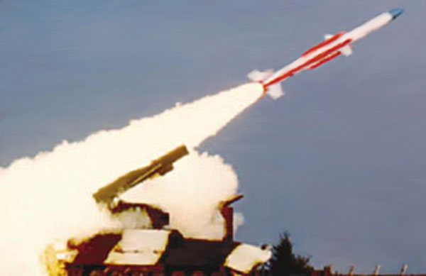 India tests surface-to-air missile from Chandipur