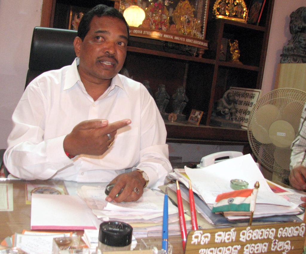 Padmanabha Behera resigns for Kandhamal violence