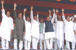 Parivartan Samavesh of N.C.P. Supremo Sharad Pawar
