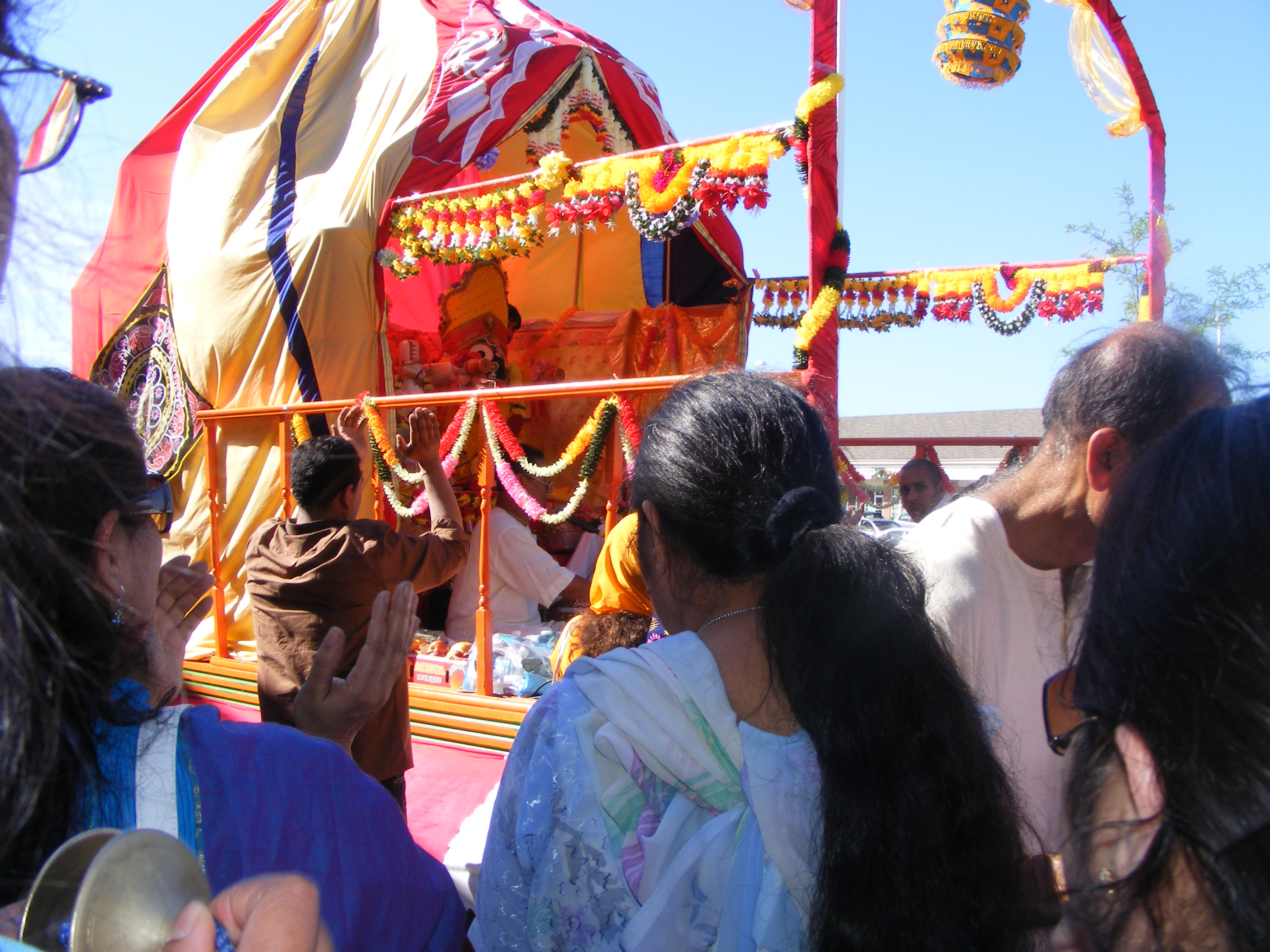 Lord Jagannath's chariot festival held in Toronto