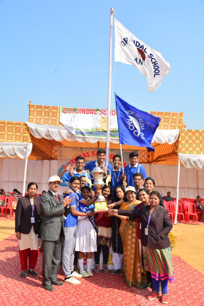 O.P. Jindal school holds 7th annual sports day