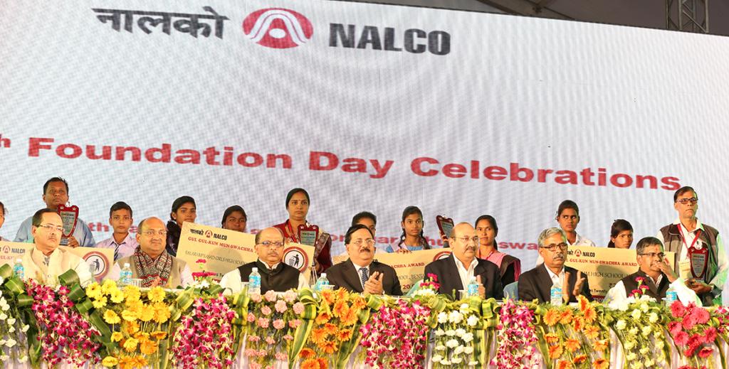 NALCO dedicates three projects to nation