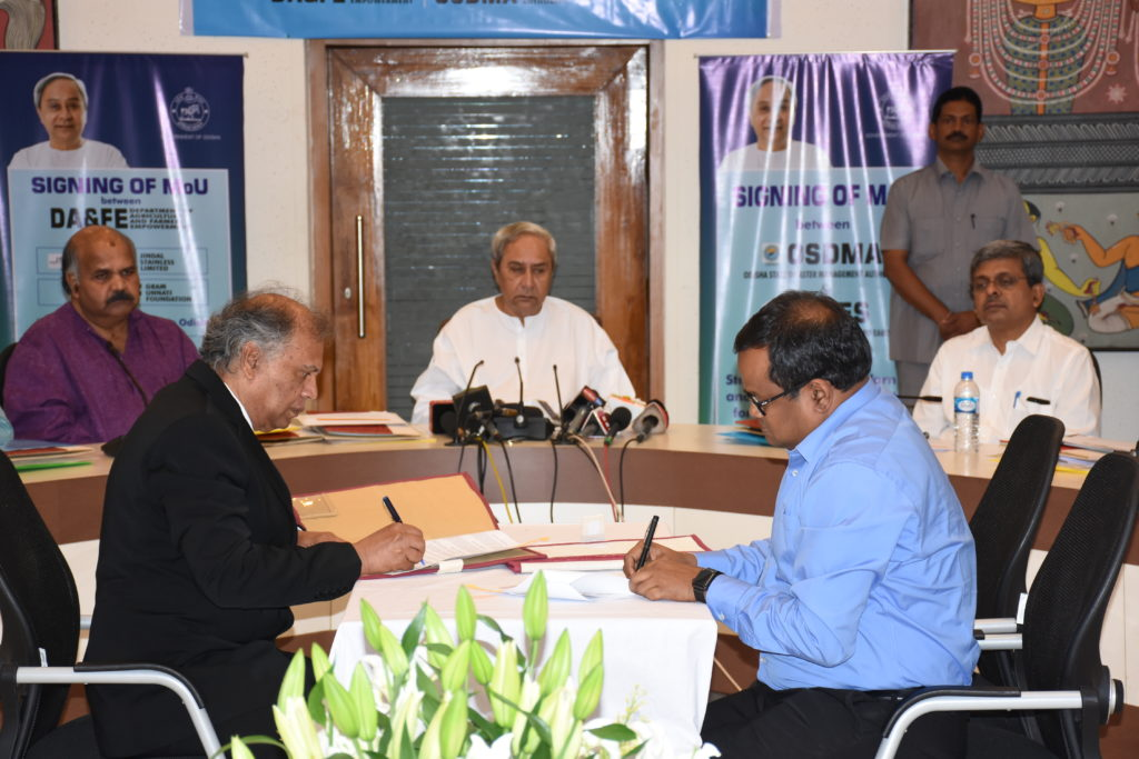 Odisha inks pact for enhancing early warning system